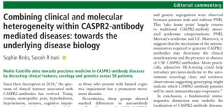 Editorial CASPR2