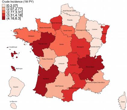 Map Patient France